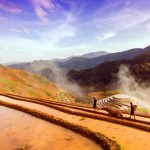 Rustic scenery of Sapa