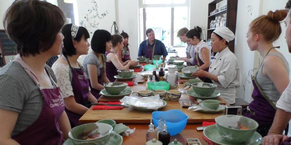 Saigon cooking class with Hoa Tuc
