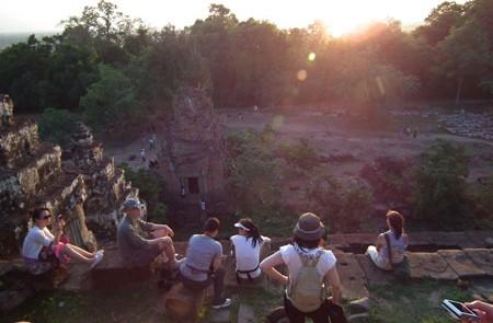 Sunset at Phnom Bakheng