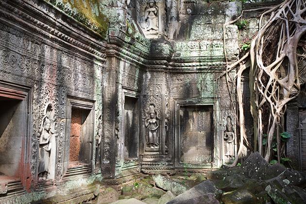 Ta Prohm cambodia vietnam laos trip