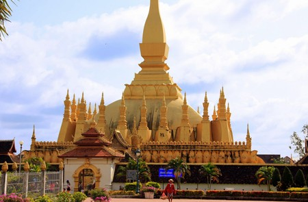 That Luang Stupa in Vientiane
