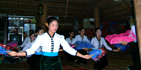The Thai in traditional dance