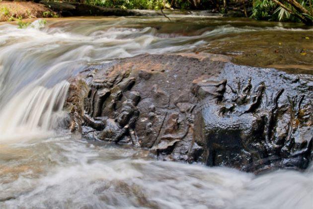 Thousand Linga River in cambodia