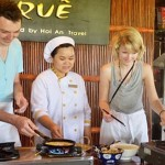 Tra Que cooking lesson