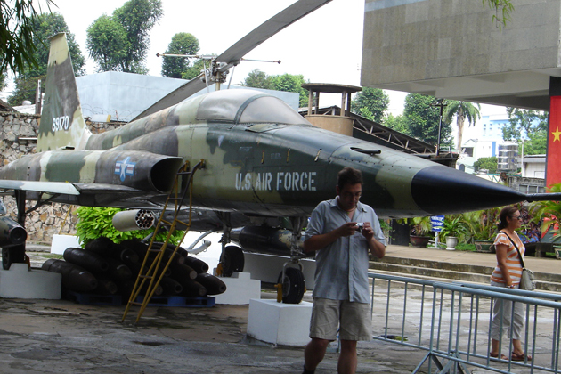 US aircraft in War Remnants Museum