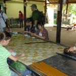 Visit coconut candy work shop in Mekong Delta