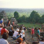 Waiting for sunset at Phnom Bakheng
