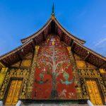 Wat Xieng Thong in luang prabang laos