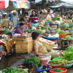 We will visit the local Dong Ba Market for some fresh ingredients of cooking class