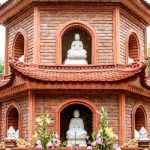 a close view of tran quoc pagoda north to south vietnam tour