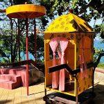 a corner of Bao Dai Villa in Nha Trang