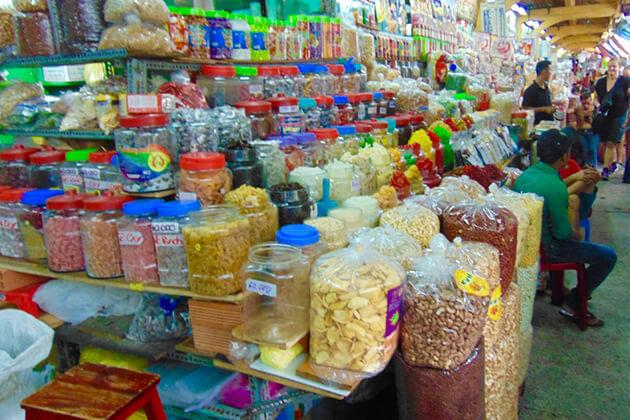 a corner of binh tay market