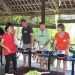 a red bridge cooking class in hoi an