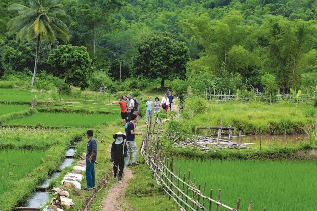 adventure tour in mai chau and pu luong