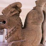 an artifact in cham museum danang