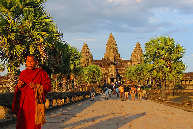 angkor wat cambodia vietnam laos itinerary