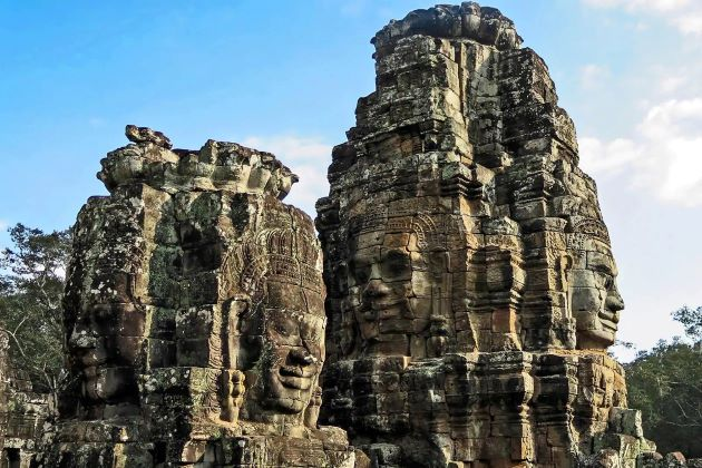 bayon temple in cambodia family tours