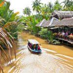 boat trip in my tho mekong delta