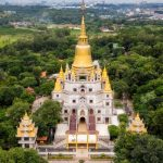 buu long pagoda from above