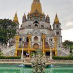 buu long pagoda in ho chi minh city vietnam