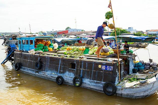 cai rang floating market mekong delta cycling tour 3 days