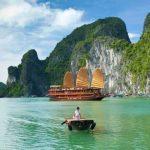 cruise ship at halong bay