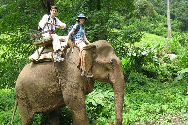 dalat elephant ride tour