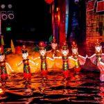 enjoy water puppet show in hanoi