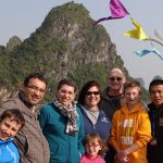 family holiday at halong bay