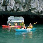 fascinating kayaking in halong bay
