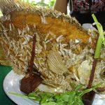 fried ear fish