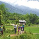 hiking in pu luong nature reserve