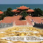 ho quoc pagoda on Phu Quoc island