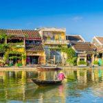hoi an ancient town with thu bon river