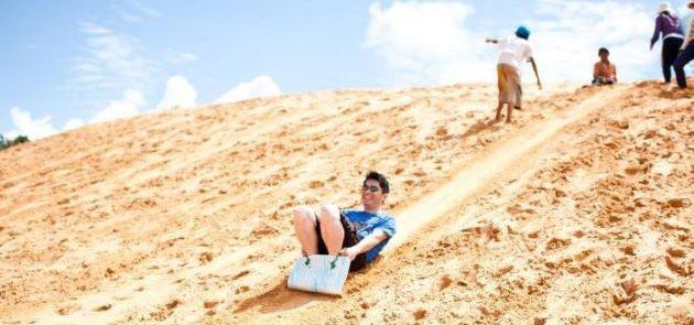interesting activities at sand dune vietnam classic tour 8 days