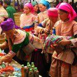 local ethnic minorities in bac ha market