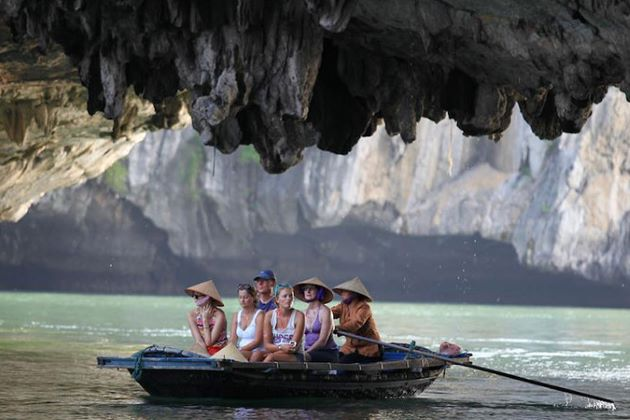 luon cave the must-visit destination in halong bay