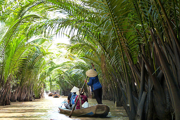 mekong delta boat canal