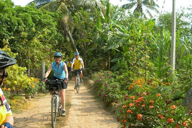mekong delta cycling tour cycling tour of vietnam cambodia laos
