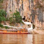 mekong river cruise in laos