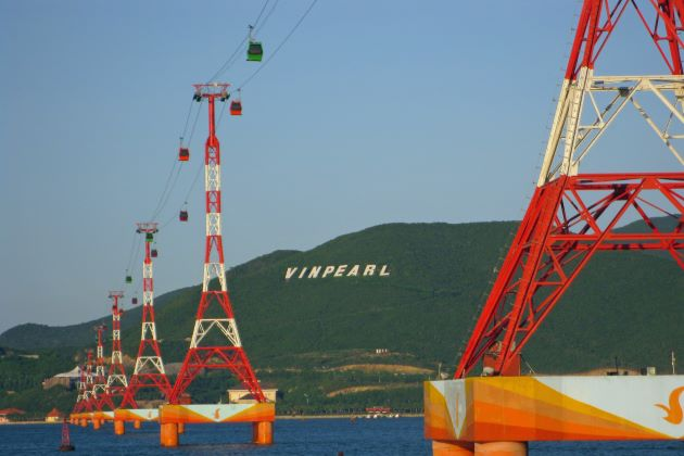 nha trang cable car powered by vinpearl