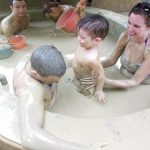nha trang mud bath with kids