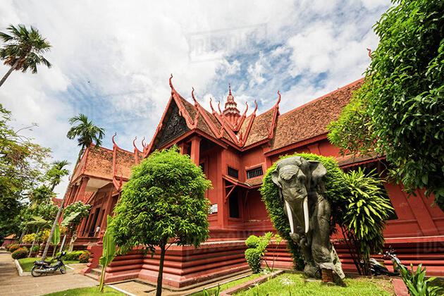 phnom penh national museum cambodia cambodia and south vietnam tours