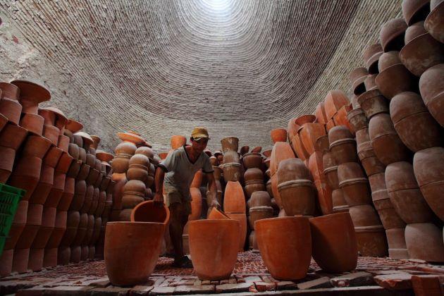 pottery village in vinh long vietnam