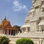 royal palace and silver pagoda in phnom penh