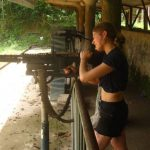 shooting range at cu chi tunnels