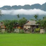 stilt houses in mai chau
