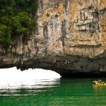 stunning luon cave in halong bay