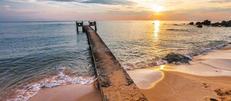 sunset over phu quoc island phu quoc beach tour 4 days