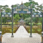 the gate at minh mang tomb